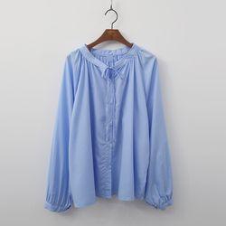 [무료배송] Avenue Shirring Blouse
