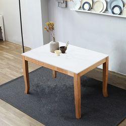 데이 포세린 무광 12T 4인 통 세라믹 식탁 테이블