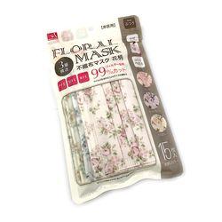 일본직수입 일회용 꽃무늬 마스크