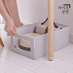 라이프공방 속옷정리함 원플원 옷장 접이식 서랍