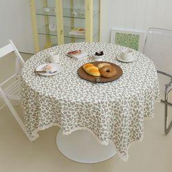 유노야 쁘띠플라워 레이스 식탁보 (147x147cm) (2종)