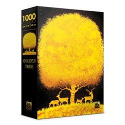 (알록퍼즐)1000피스 황금 나무 직소퍼즐 AL3022