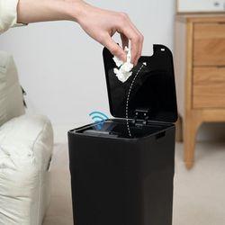 12L 스마트 감지 심플 모던 휴지 쓰레기통