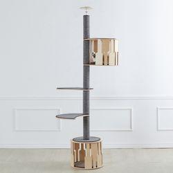 알루미늄캣폴 캣폴 (언더하우스+발판2개+하우스)
