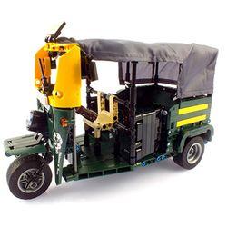 툭툭카 삼륜택시 자동차 블록 591PCS (CBT112598)