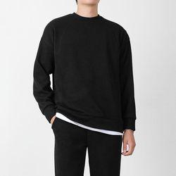 남자 니트맨투맨 무지 니트 티셔츠