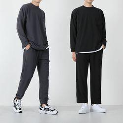 남자 레이 티셔츠 조거팬츠 와이드팬츠 트레이닝세트