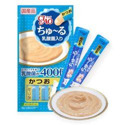이나바 챠오츄르14gx4p-유산균 가다랑어[SC-232]츄르