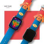 [예약판매 11/8 순차배송] [MR TIME x WiggleWiggle] 위글위글 콜라보 스마트 시계줄 Bear