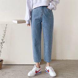 [무료배송] Sydney Crop Baggy Jeans