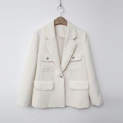Tweed System Pocket Jacket