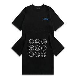 [당일발송] 커먼즈 남녀공용 백포인트 오버핏 티셔츠