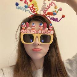 스프링 파티 생일 머리띠 소품 헤어밴드