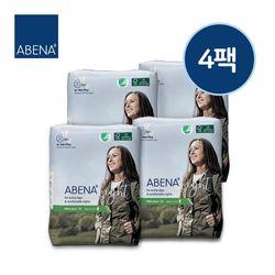 아베나 라이트 패드 여성용 미니플러스 16매x4팩