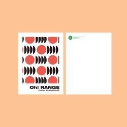 BFMA 아트웍 엽서 - Oh RANGE PATTERN