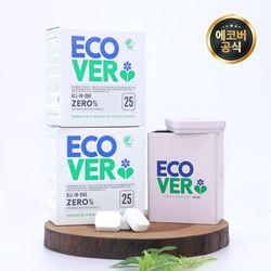 에코버 식기세척기세제 제로 500g 틴케이스 2개세트
