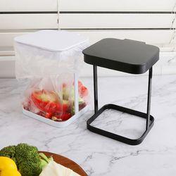 미니 철제 휴지통 다용도 주방 책상 탁상 소형 쓰레기통 SH016