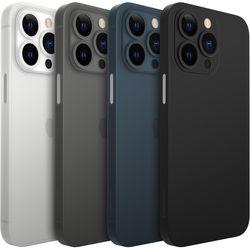 아이폰 13 에어스키니 초슬림 밀착핏 쉴드 무광 매트 케이스