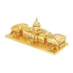 미니 메탈퍼즐 - 미국 국회의사당 (골드)
