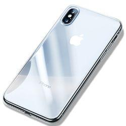 제로스킨 아이폰 XR용 하드 슬림 시그니처6 투명 케이스