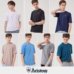 아리스토우 남자 테크니컬 티셔츠 남성 티셔츠