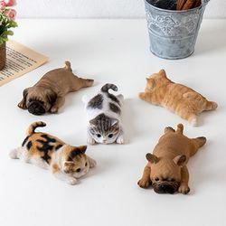 강아지 고양이 냉장고 자석 미니어쳐 마그넷 SH018