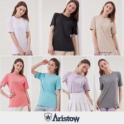 아리스토우 여성 테크니컬 티셔츠