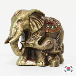 러브코끼리 국내 수작업 주물 장식품 SSC-901