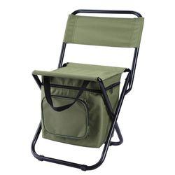 보냉 가능한 접이식 휴대용 캠핑의자