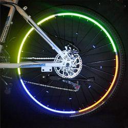 자전거 바퀴 야광 스티커/안전용품