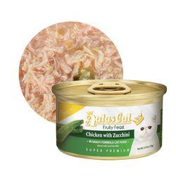 아타스 캣 과일 주식캔 치킨앤주키니 70g 1박스 (24캔)고양이캔