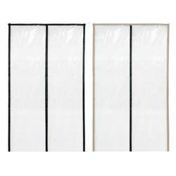 자석 대형 창문 방풍 비닐 커튼 주문제작 200x120