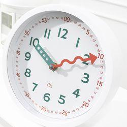 멀티글로벌 키즈 교육용 무소음 벽 탁상 겸용 시계 B