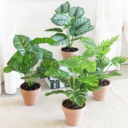 보타닉 식물화분 조화 (4type)