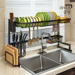 라이프공방 스텐 식기건조대 설거지 그릇 정리대 식기