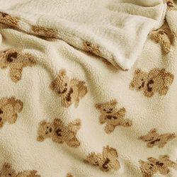 양털 극세사 담요 고미 크림 150x200cm