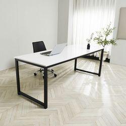 대형 서재 오피스 회의실 학생 다용도 책상 테이블 1800-800