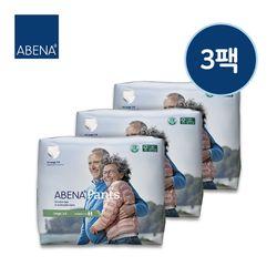 아베나 성인용기저귀 라이트 팬티 남녀공용 대형 14매x3팩