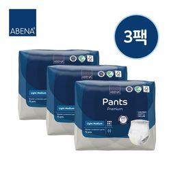 아베나 성인용기저귀 라이트 팬티 남녀공용 중형 14매x3팩
