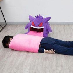 포켓몬 팬텀 혀 봉제인형 담요기능 수면베개 낮잠꿀잠