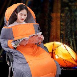 사계절 캠핑 이불 차박 침낭 동계침낭 담요 매트