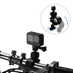 고프로 액션캠 텔레신 멀티 앵글 자전거 바이크 핸들바 마운트