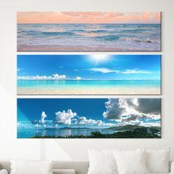 대형 거실 액자 인테리어 바다 그림 28종 파노라마 캔버스