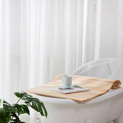 편백나무 고급 히노끼 원목 욕조 덮개 750x1200