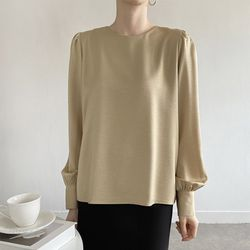 Silky Puff Blouse
