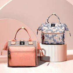 하라로이 기저귀가방 도트백