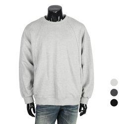 [쿠비코]박시핏 절개 포켓 맨투맨 티셔츠 MZ236