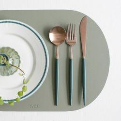 (에펠 로즈골드) 커트러리 스푼 포크 나이프 - 8color
