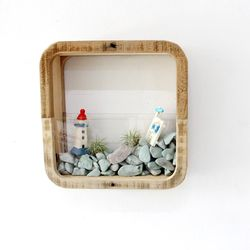 플랜트 박스 액자 시리즈 - 정사각