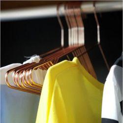 골드 논슬립 옷걸이 10개 1세트(색상랜덤)